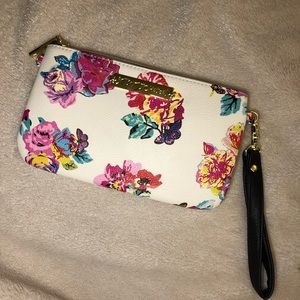 Betsy Johnson Clutch w/ portable iPhone charger